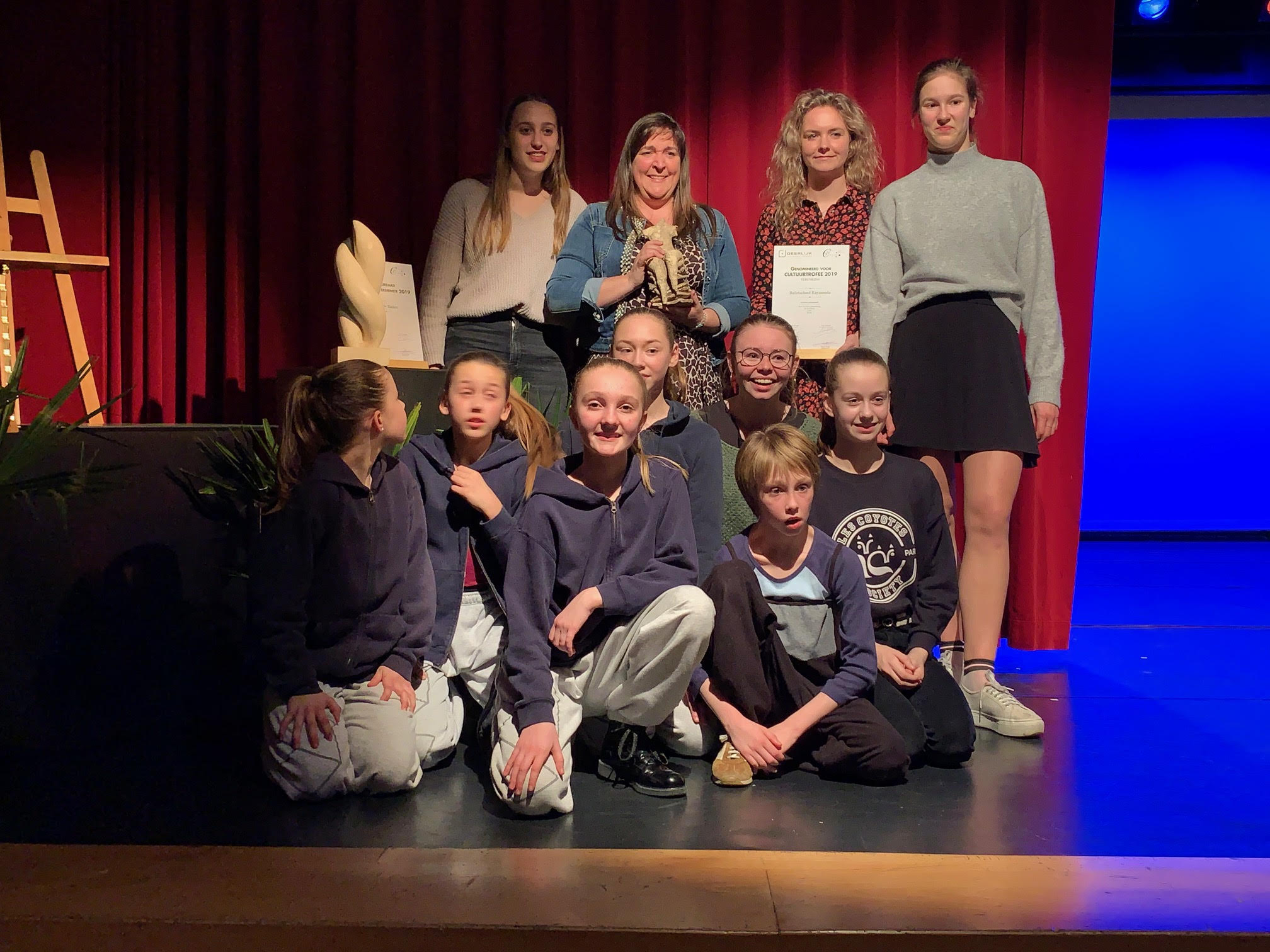 Balletschool Raymonda, Hannelore Bedert en Hugo Debacker krijgen Deerlijkse Cultuurtrofee